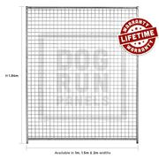Galvanised Mesh Full Dog Panels in UK by Dog Run Panels
